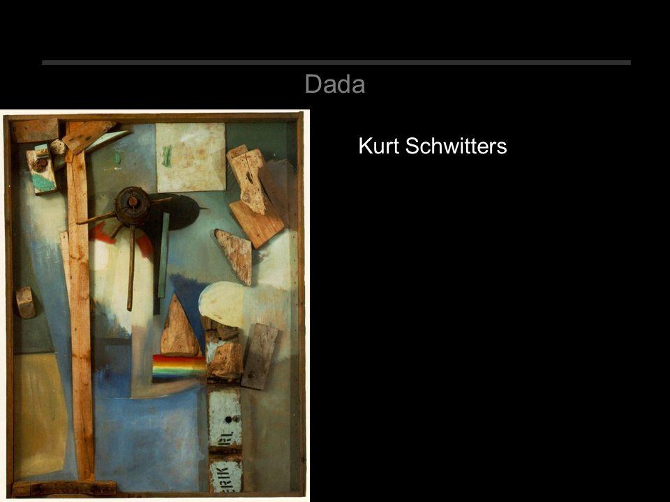 Dada Kurt Schwitters