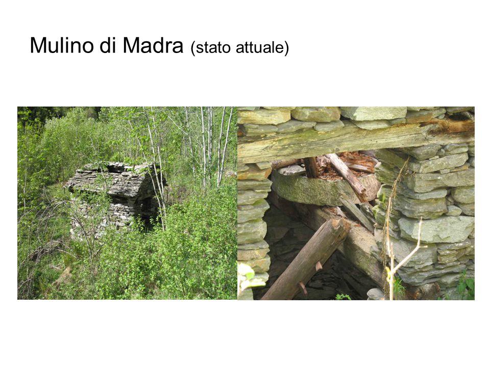 Mulino di Madra (stato attuale)