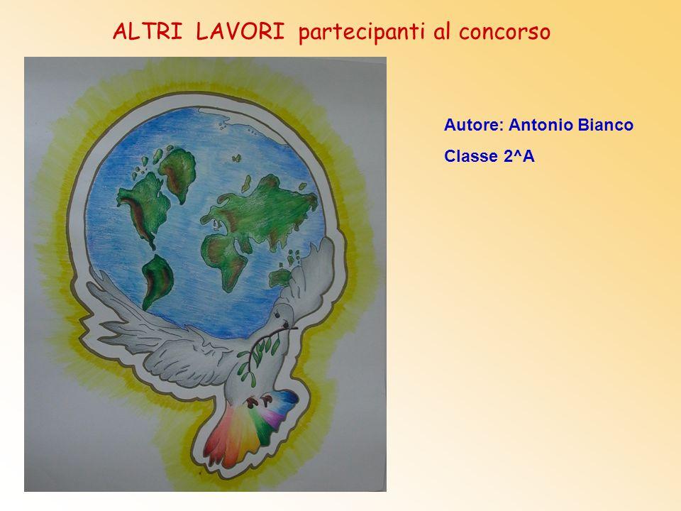 Autore: Antonio Bianco Classe 2^A ALTRI LAVORI partecipanti al concorso