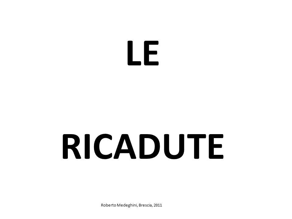 LE RICADUTE Roberto Medeghini, Brescia, 2011