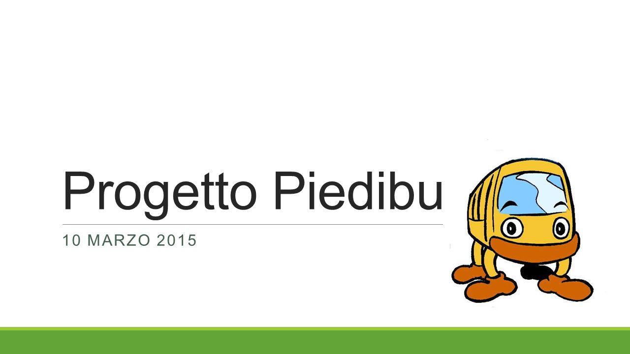 Progetto Piedibus 10 MARZO 2015