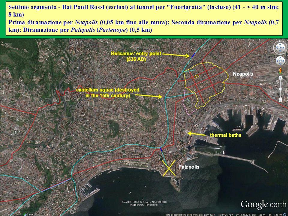 Neapolis Palepolis Settimo segmento - Dai Ponti Rossi (esclusi) al tunnel per