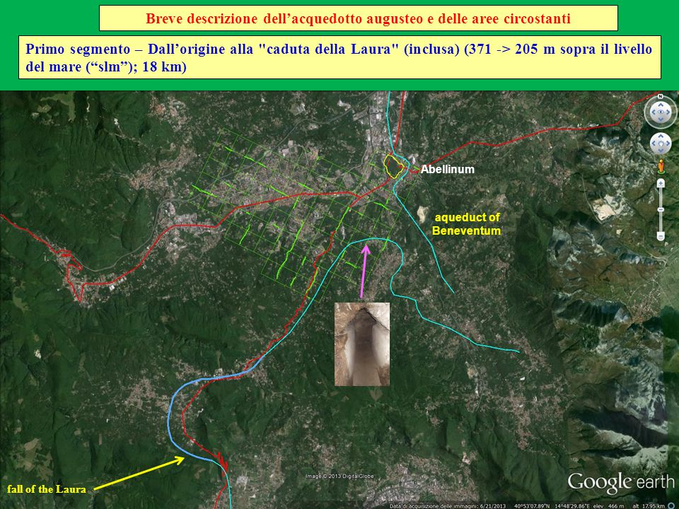Neapolis Sesto segmento – Dalla diramazione per Atella ai Ponti Rossi (inclusi) (44 -> 41 m slm; 7,4 km) great canal bridge (3.5 km) Ponti Rossi