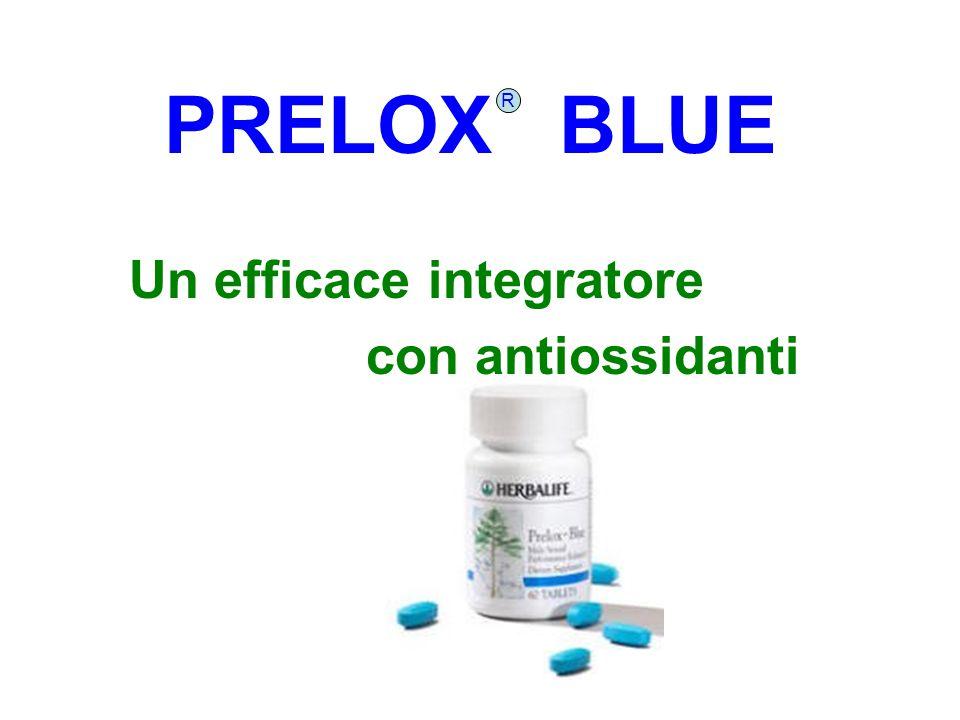 PRELOX BLUE Un efficace integratore con antiossidanti R