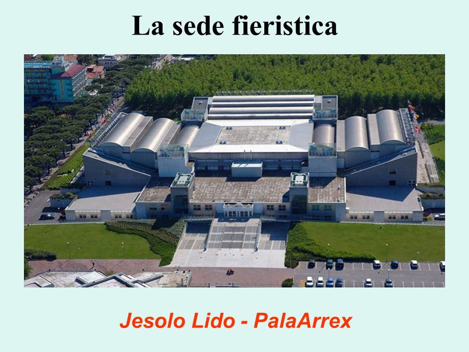 La sede fieristica Jesolo Lido - PalaArrex