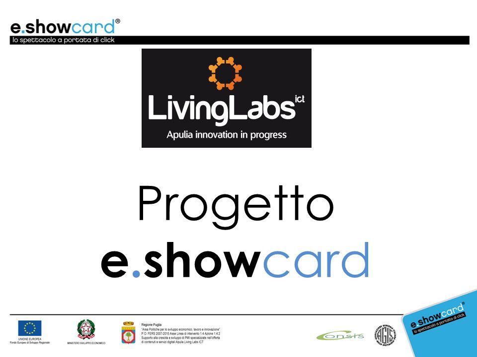 Progetto e.show card