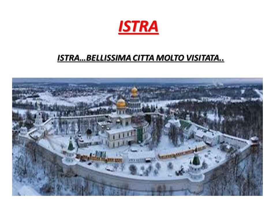 ISTRA ISTRA…BELLISSIMA CITTA MOLTO VISITATA..