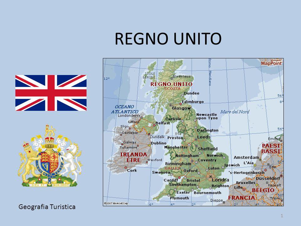 2 QUATTRO NAZIONI: Il Regno Unito comprende la Gran Bretagna (Inghilterra, Scozia e Galles) e la parte nord-orientale dell'isola d'Irlanda (Ulster dal 1922).