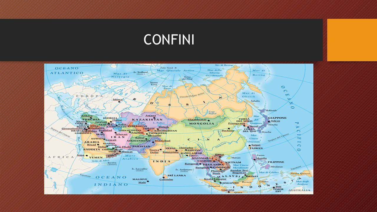 Etimologia La parola Asia deriva dal termine greco 'Asia esso fu utilizzato per la prima volta da Erodoto intorno al 440 a.C per indicare l' ANATOLIA