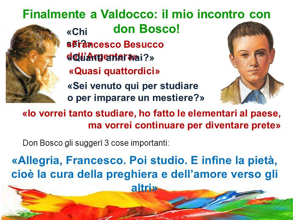 Finalmente a Valdocco: il mio incontro con don Bosco.