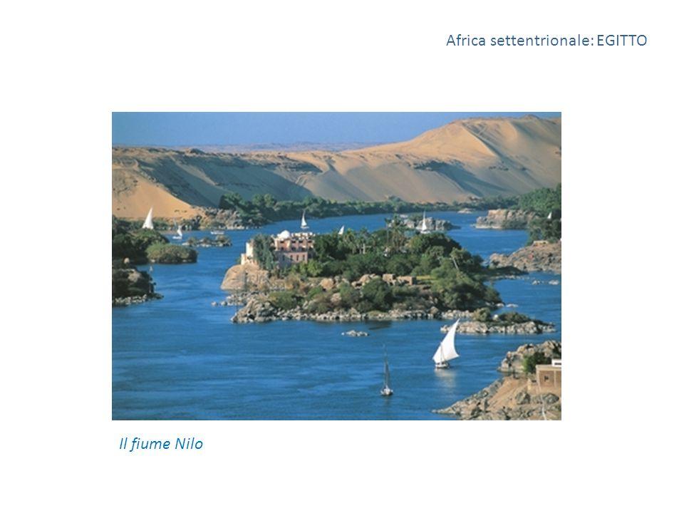 Africa settentrionale: EGITTO Il fiume Nilo