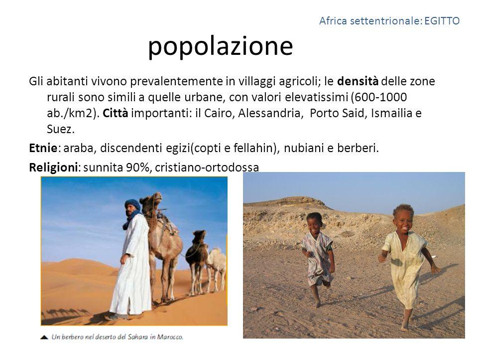 popolazione Gli abitanti vivono prevalentemente in villaggi agricoli; le densità delle zone rurali sono simili a quelle urbane, con valori elevatissim