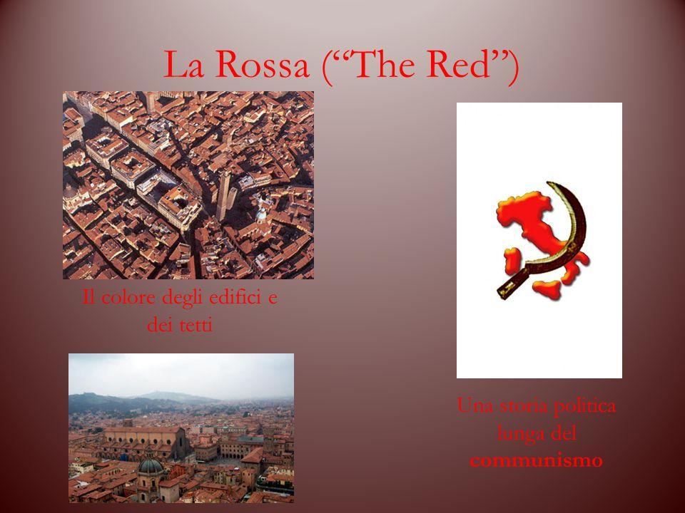 """La Rossa (""""The Red"""") Il colore degli edifici e dei tetti Una storia politica lunga del communismo"""