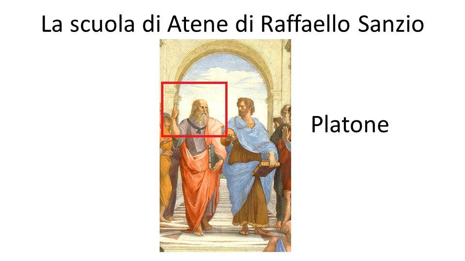 La scuola di Atene di Raffaello Sanzio Platone