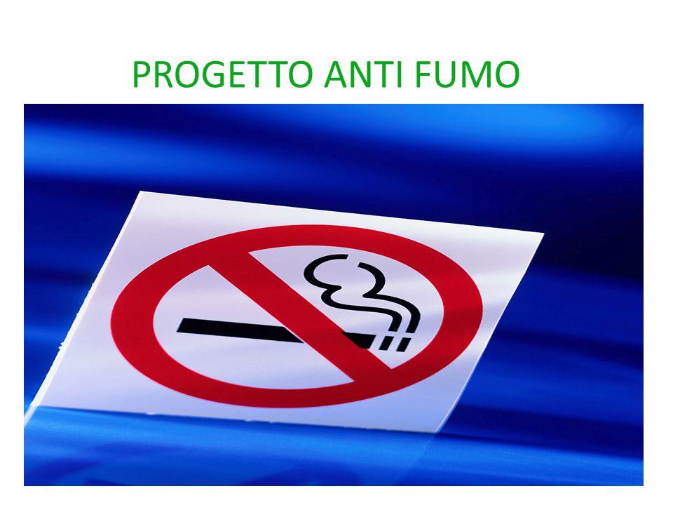 PROGETTO ANTI FUMO