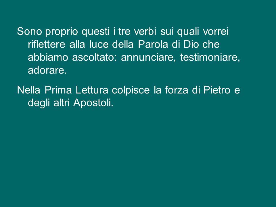Siamo sulla tomba di san Paolo, un umile e grande Apostolo del Signore, che lo ha annunciato con la parola, lo ha testimoniato col martirio e lo ha ad