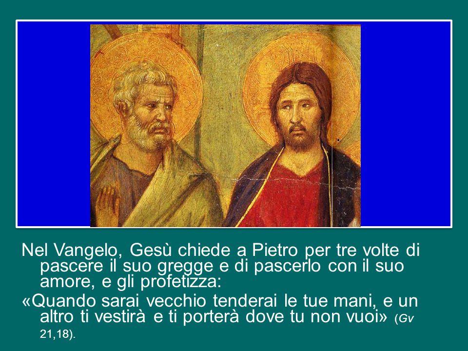 Ma facciamo un passo avanti: l'annuncio di Pietro e degli Apostoli non è fatto solo di parole, ma la fedeltà a Cristo tocca la loro vita, che viene ca