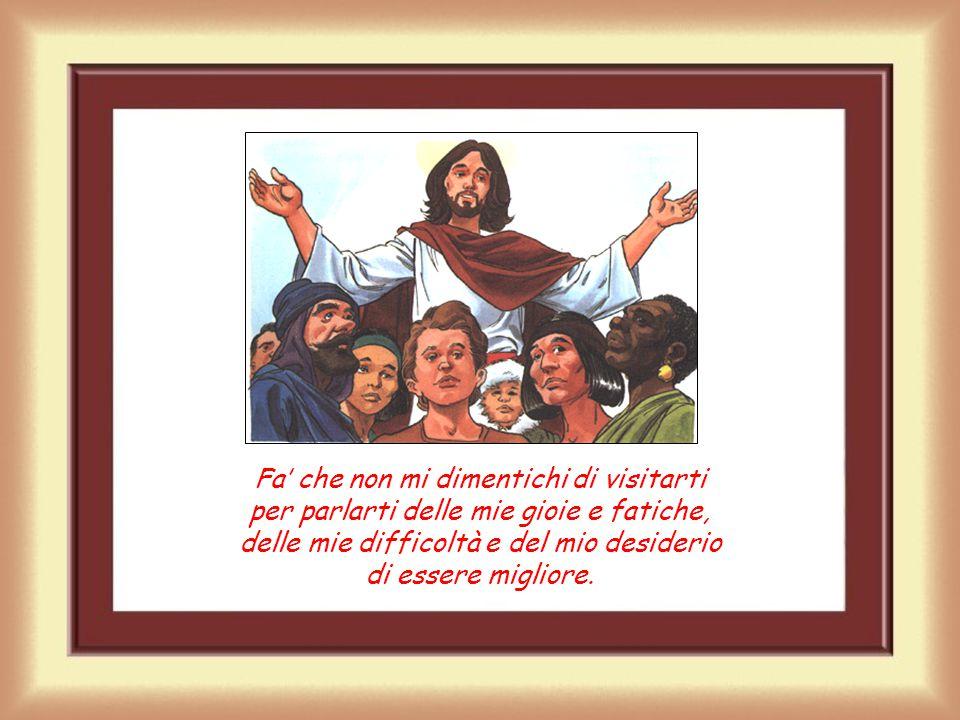 Gesù ci attende in chiesa Grazie, Gesù, per essere rimasto con noi. Grazie per aspettarci pazientemente nel tabernacolo della chiesa.