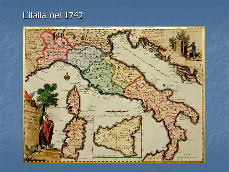 L'italia nel 1742