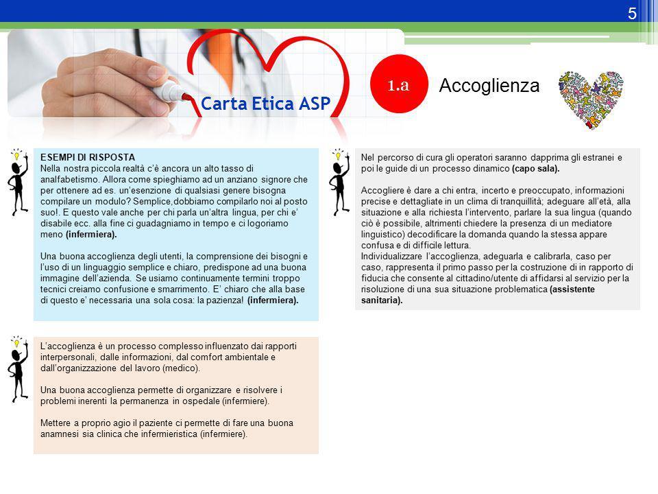 16 Carta Etica ASP 6.1 Art.3, c.