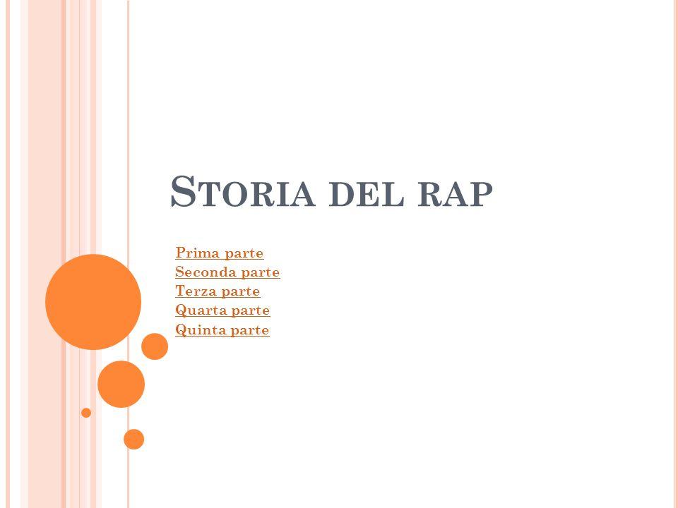 1983 - 84 Il rap è la nuova arte di frontiera: si pone tra cultura e natura, massa ed élite, bianco e nero, aggressività ed ironia, immondizie e raffinatezze spinte.