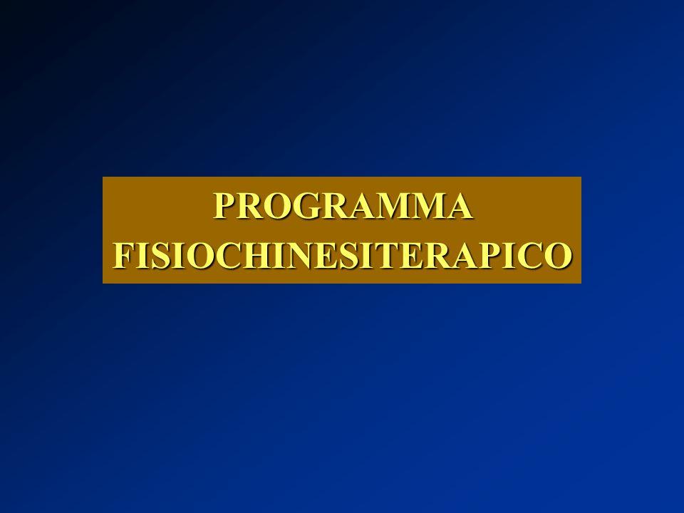PROGRAMMA FISIOCHINESITERAPICO