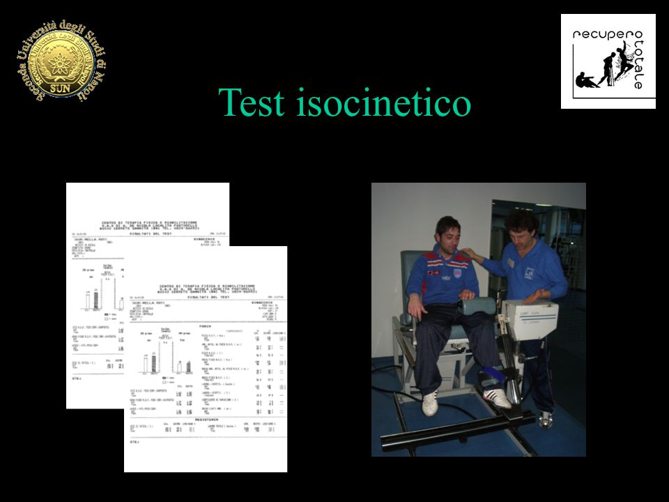 Test isocinetico