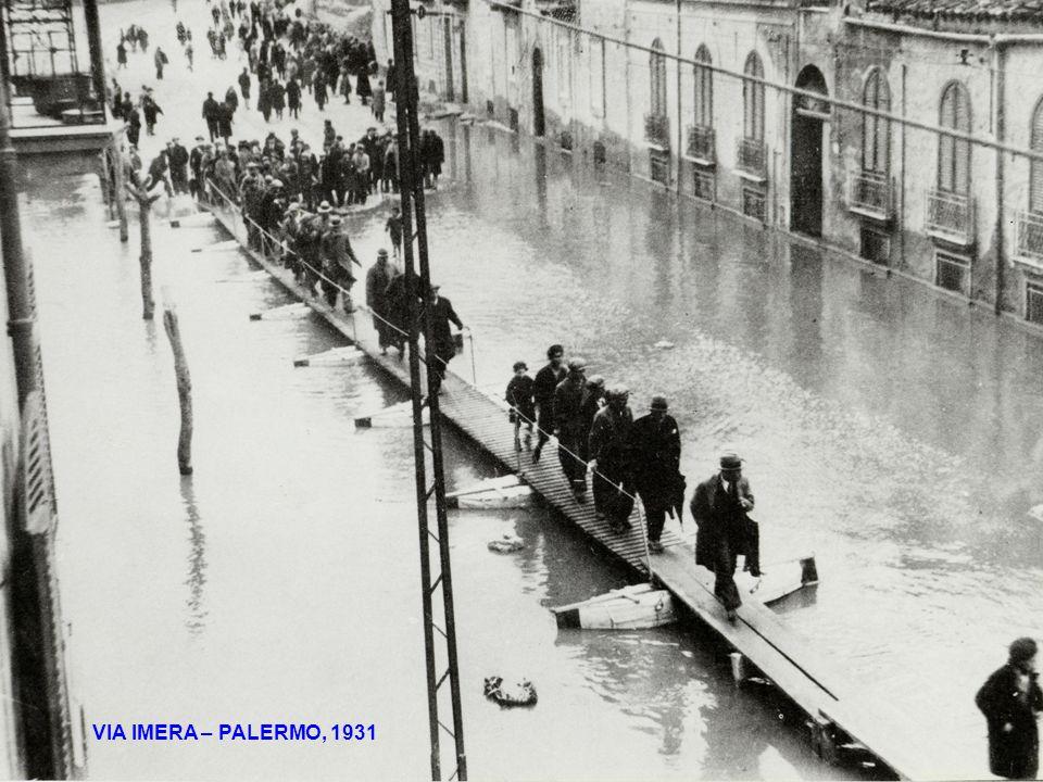 VIA IMERA – PALERMO, 1931