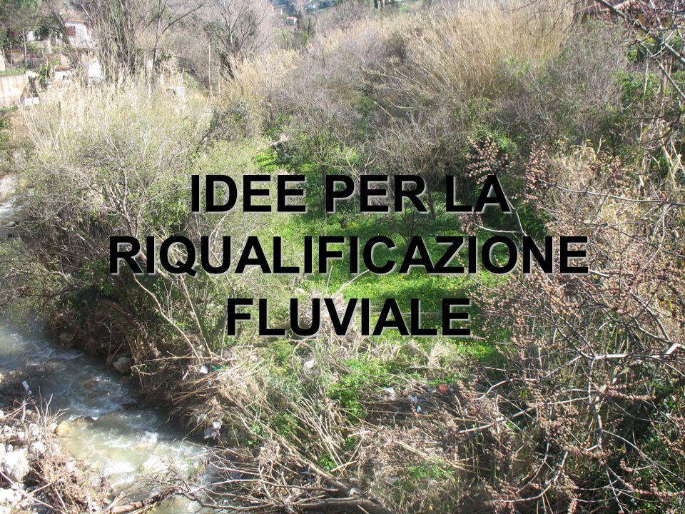 IDEE PER LA RIQUALIFICAZIONE FLUVIALE