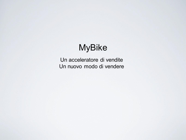 MyBike Un acceleratore di vendite Un nuovo modo di vendere