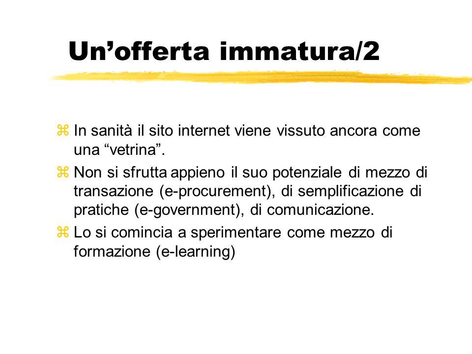 Il buon sito pubblico di salute/1 zPrimo obiettivo: adottare le regole di buona pratica comunicativa (es.