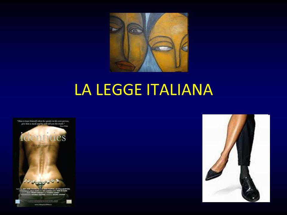 LA LEGGE ITALIANA