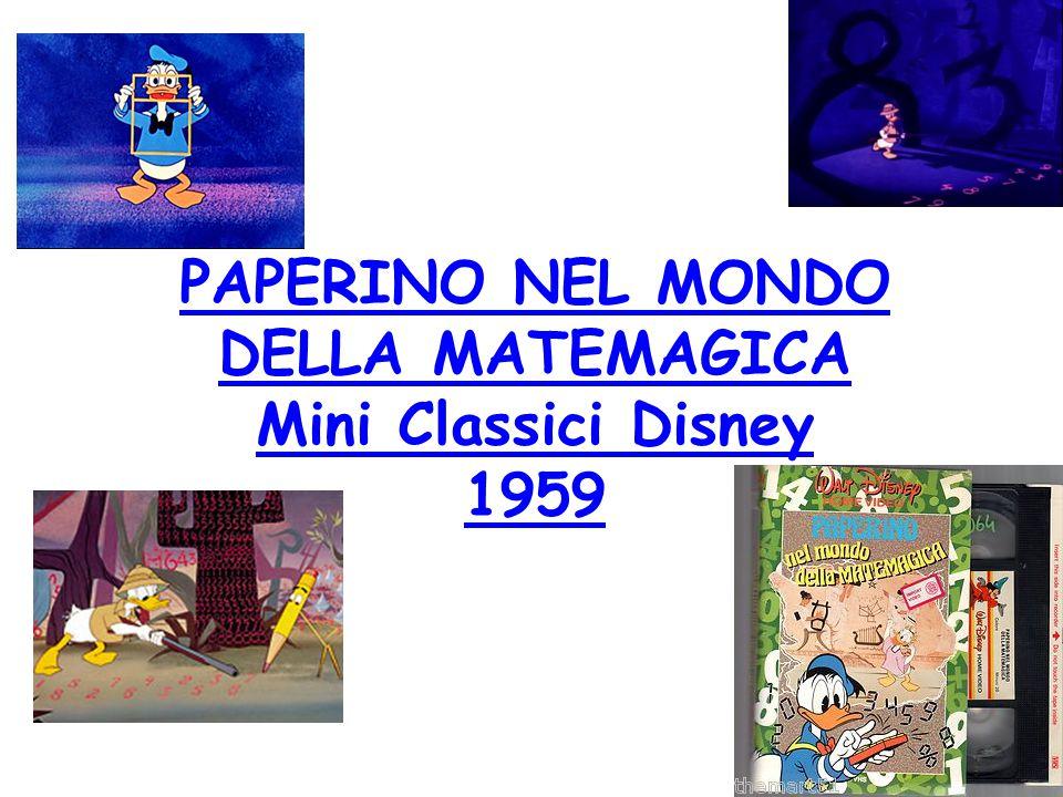 PAPERINO NEL MONDO DELLA MATEMAGICA Mini Classici Disney 1959