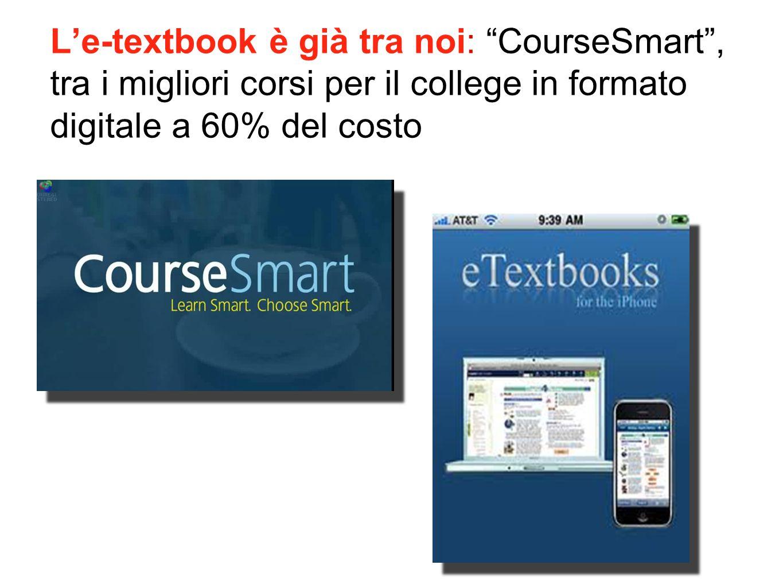 """L'e-textbook è già tra noi: """"CourseSmart"""", tra i migliori corsi per il college in formato digitale a 60% del costo"""
