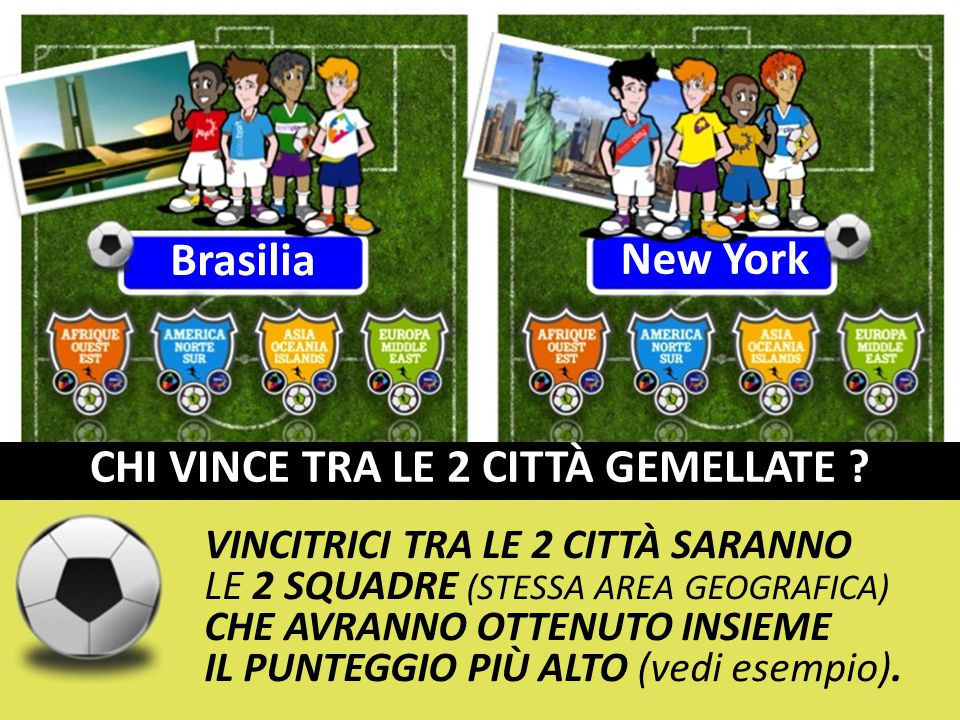 Brasilia New York CHI VINCE TRA LE 2 CITTÀ GEMELLATE .