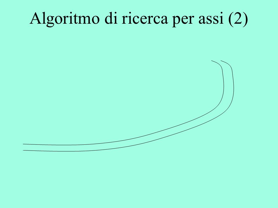 Algoritmo di ricerca per assi (2)