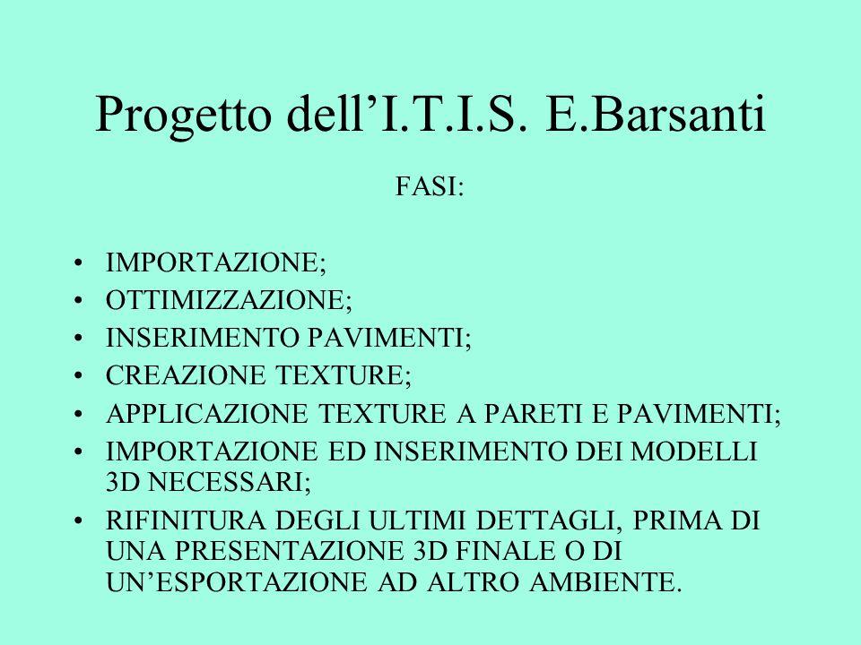 Progetto dell'I.T.I.S.