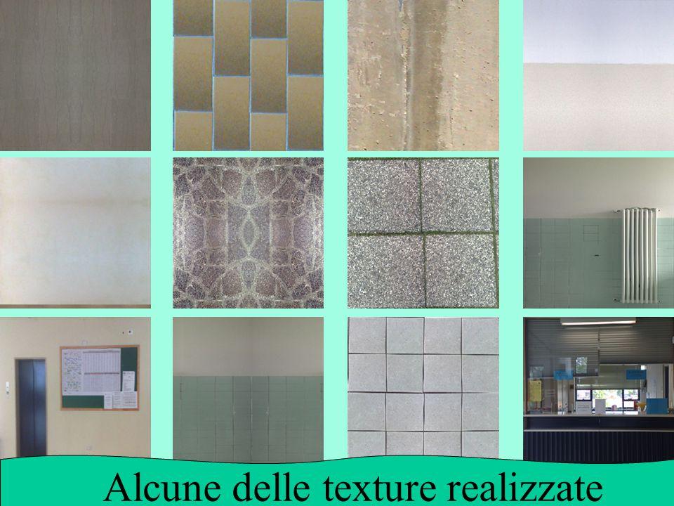 Alcune delle texture realizzate