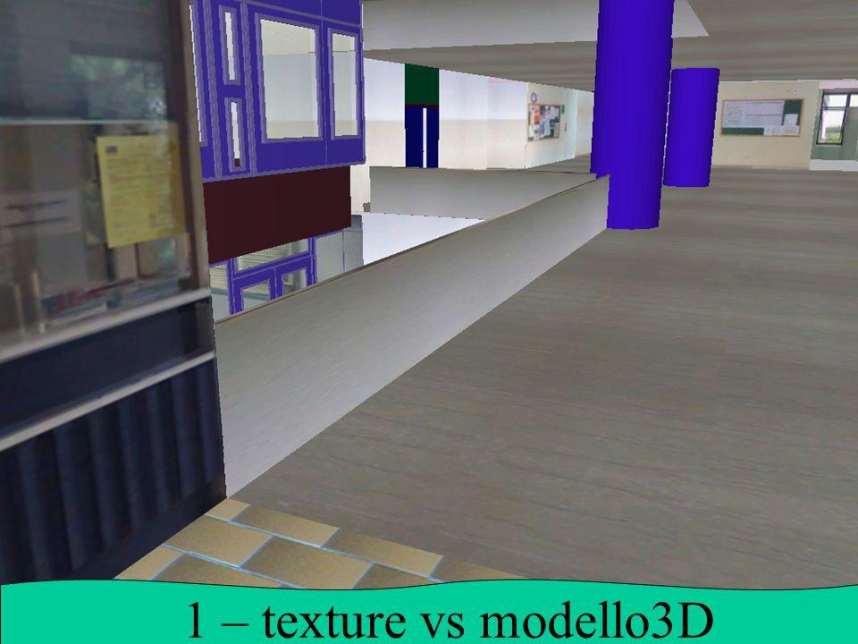 1 – texture vs modello3D