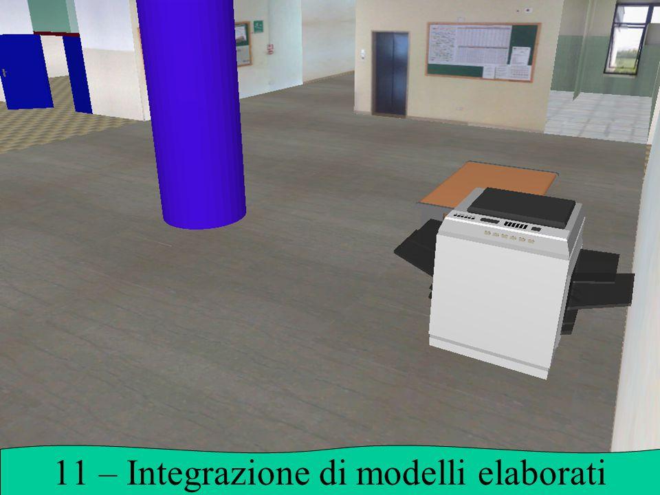 11 – Integrazione di modelli elaborati
