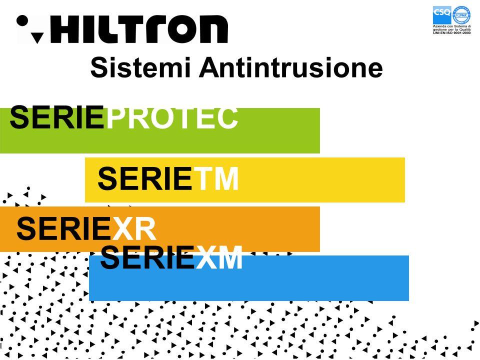 Sistemi Antintrusione SERIEPROTEC SERIETM SERIEXR SERIEXM