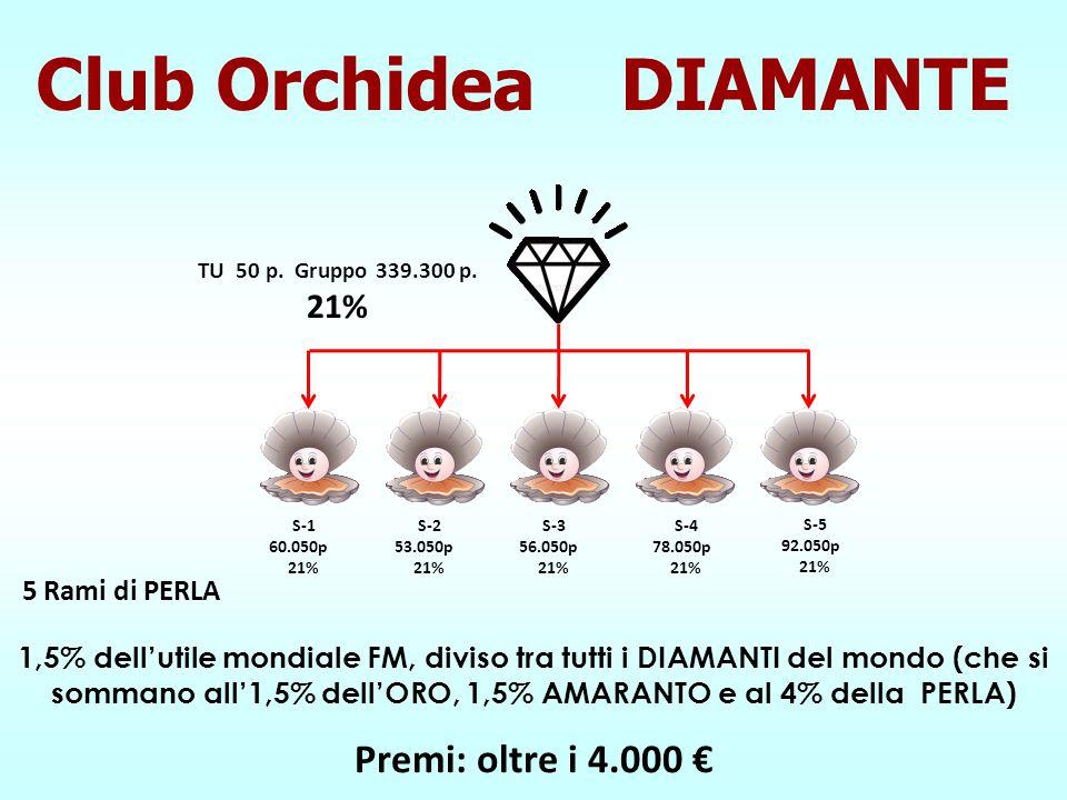 Premi: oltre i 4.000 € S-1 60.050p 21% S-2 53.050p 21% S-3 56.050p 21% TU 50 p. Gruppo 339.300 p. 21% S-4 78.050p 21% S-5 92.050p 21% 1,5% dell'utile