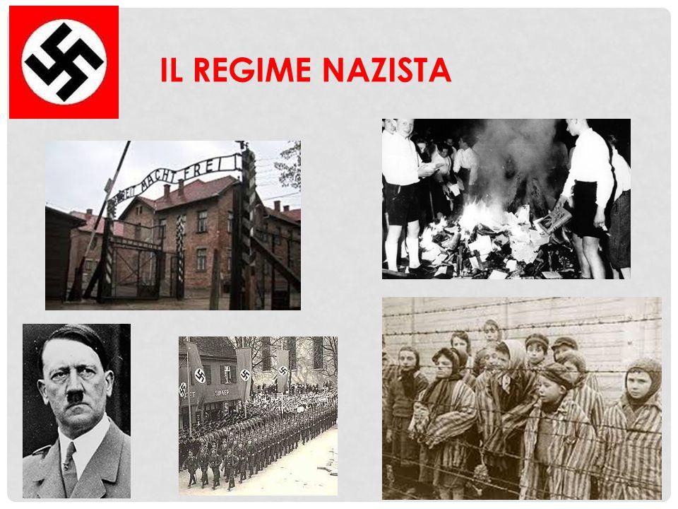 LA DITTATURA NAZISTA L'incendio del Reichstag fu per i nazisti il pretesto per procedere verso l'affermazione sempre più completa della dittatura; nei mesi seguenti vennero messi fuorilegge i sindacati e i partiti di sinistra; furono dichiarati illegali tutti i partiti, eccetto quello nazista.