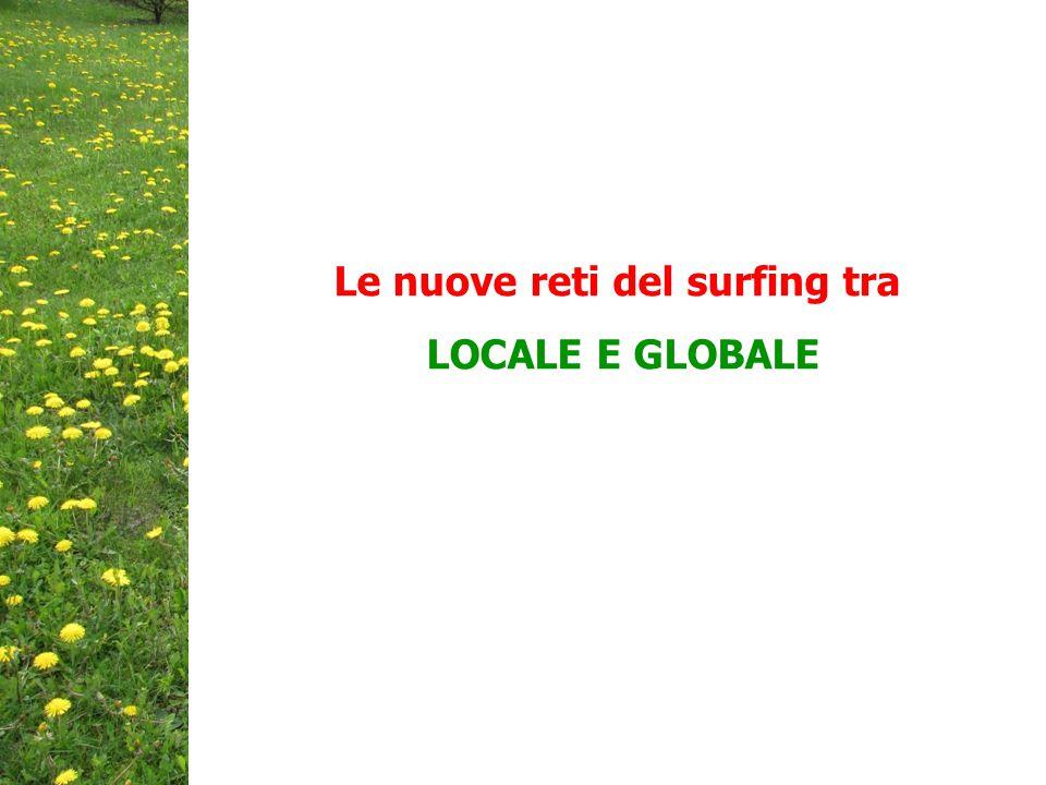 Le nuove reti del surfing tra LOCALE E GLOBALE