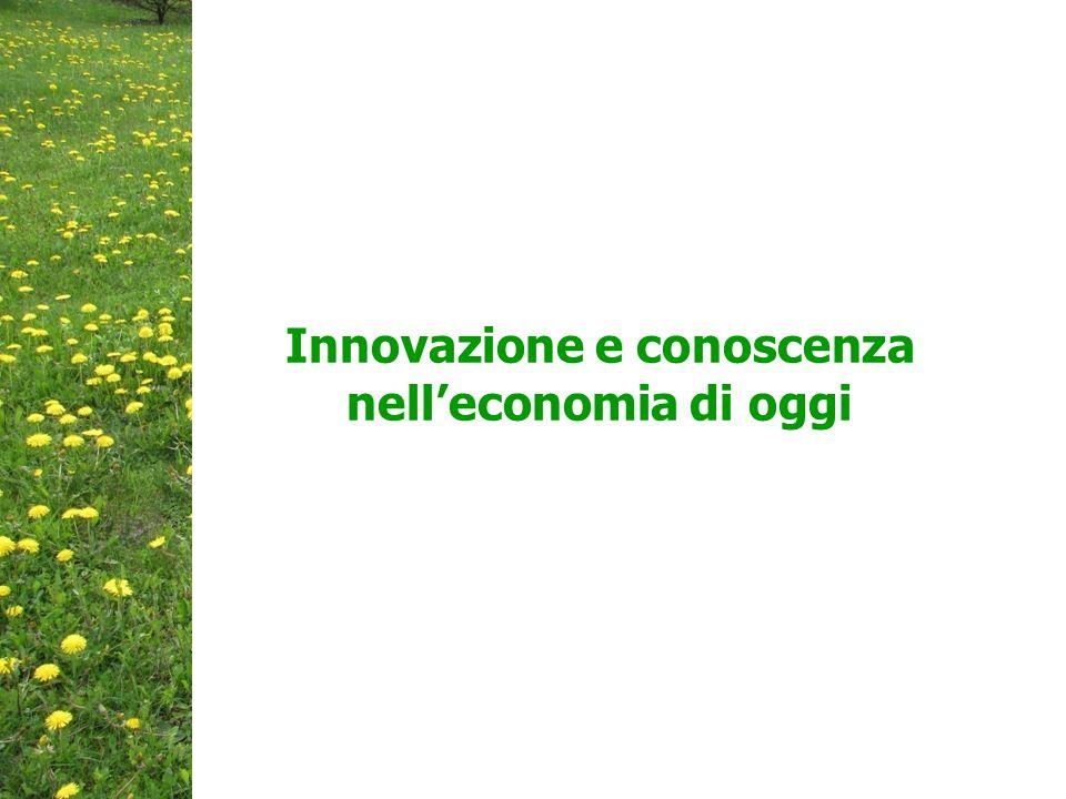Innovazione e conoscenza nell'economia di oggi