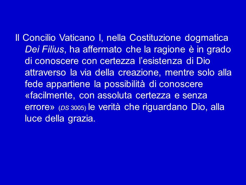 La fede cattolica è dunque ragionevole e nutre fiducia anche nella ragione umana.