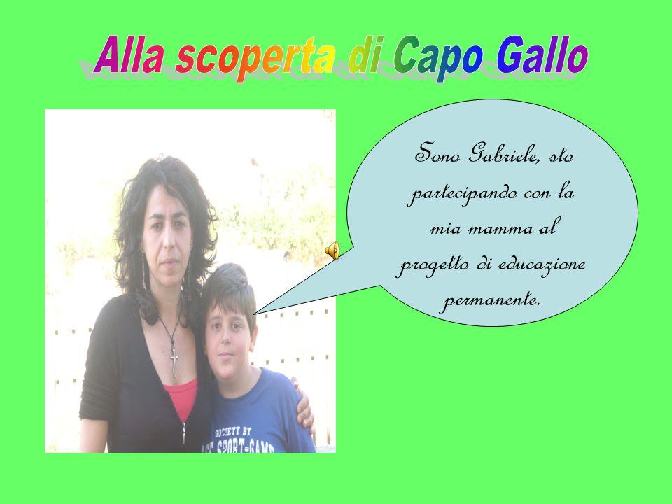 Sono Gabriele, sto partecipando con la mia mamma al progetto di educazione permanente.