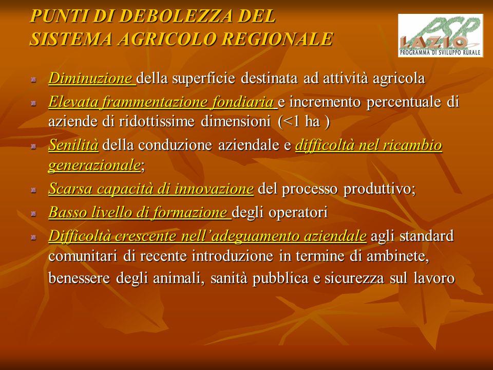 MISURA 121 - AMMODERNAMENTO DELLE AZIENDE AGRICOLE Riferimenti normativi Artt.