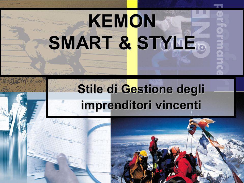 1 KEMON SMART & STYLE Stile di Gestione degli imprenditori vincenti
