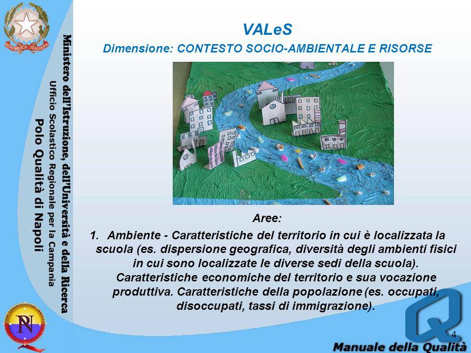 5 2.Capitale sociale – 3.Risorse e competenze presenti nella comunità per la cooperazione, la partecipazione e l'interazione sociale.